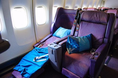 Chăn gối trên máy bay