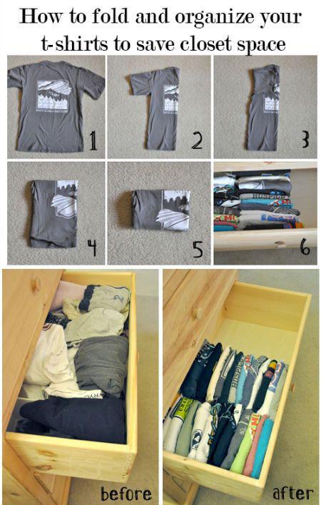 Gấp quần áo