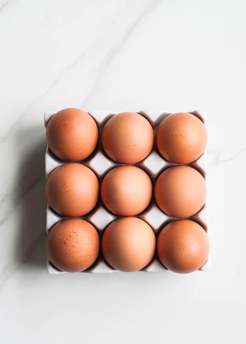 làm đẹp từ trứng