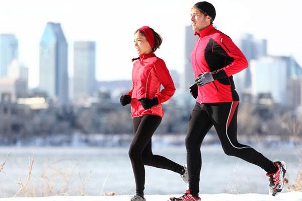 Thể dục vào mùa đông