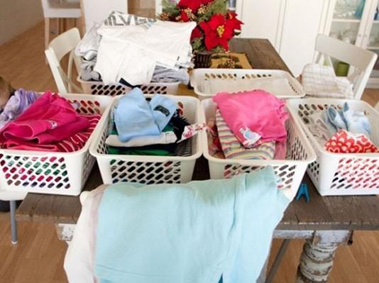 Bí quyết giúp giặt quần áo bằng máy