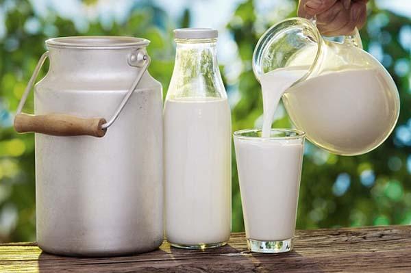 Sữa và nước trái cây chưa tiệt trùng