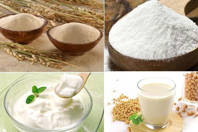 Sữa chua - bột gạo