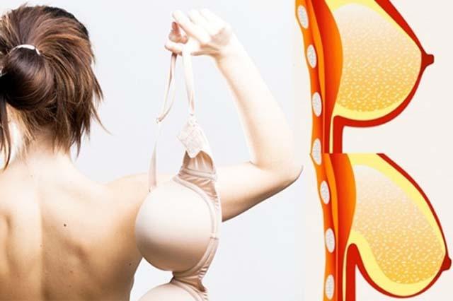Vì sao phụ nữ không nên mặc áo ngực