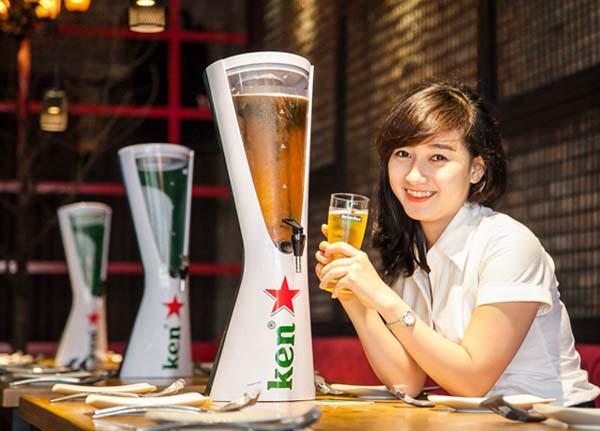 lợi ích của uống bia