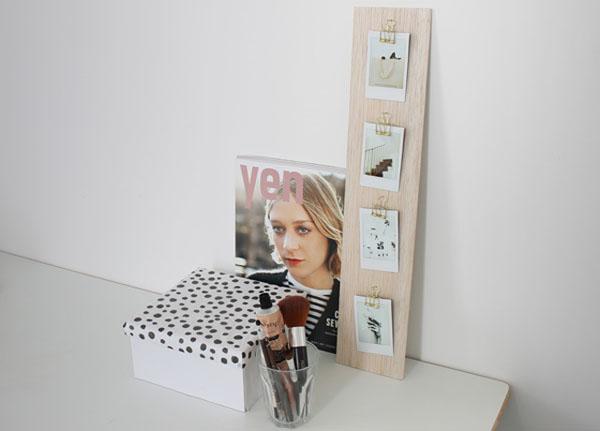 Làm khung ảnh treo tường cực đẹp chỉ với một tấm gỗ