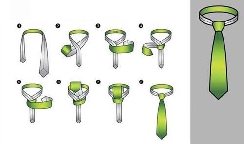 các cách thắt cà vạt đẹp