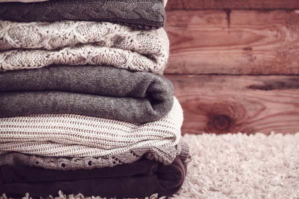 cách bảo quản áo len mùa Đông