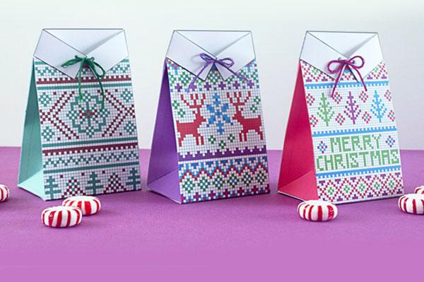 Ý tưởng gói quà Giáng Sinh siêu dễ thương dành cho người không khéo tay