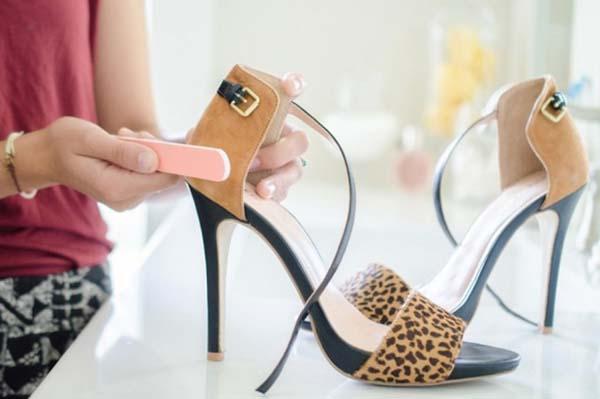 mẹo vặt khi đi giày