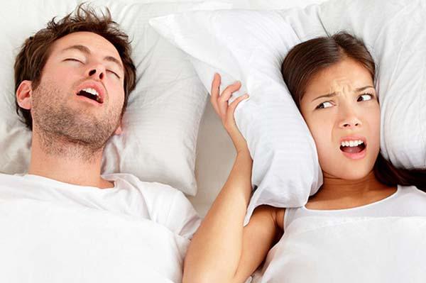 mẹo chữa ngủ ngáy