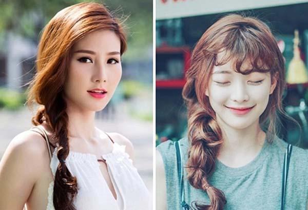 4 kiểu tóc tết gọn gàng trẻ trung ngại chi nóng bức ngày Hạ