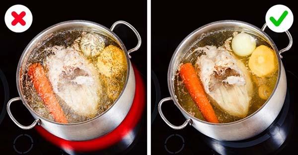 mẹo nấu nướng các đầu bếp chẳng bao giờ tiết lộ