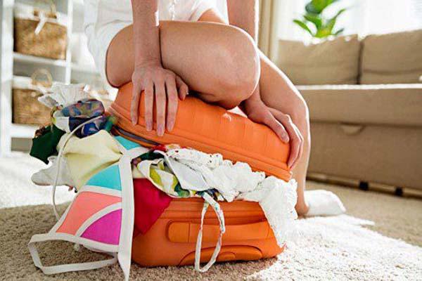 mẹo sắp xếp hành lý