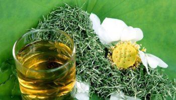 giảm cân với trà lá sen