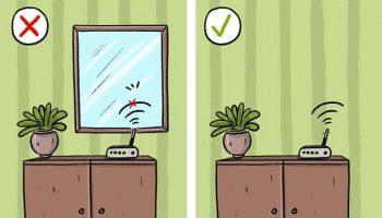 thiết bị làm yếu wifi