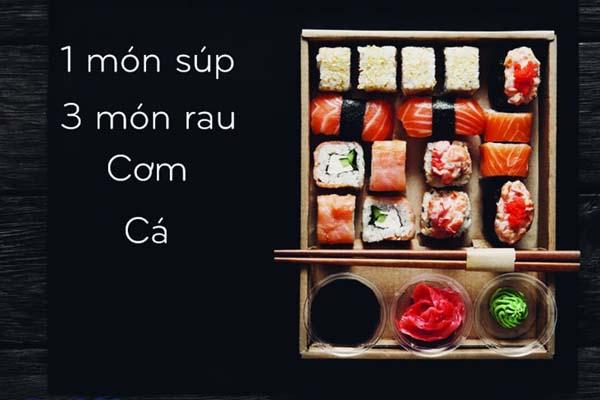 bữa ăn truyền thống người Nhật