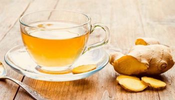 trà gừng chống say xe